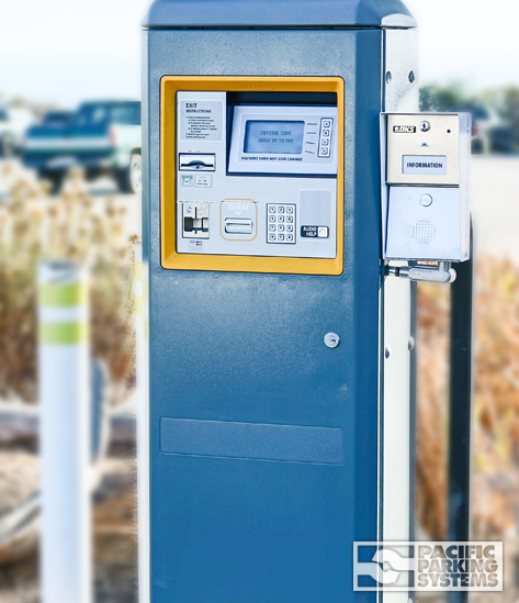 Pacific Parking Systems Automated Pay Station
